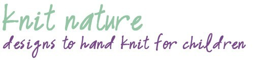 Knit Nature - Designs to hand knit for children